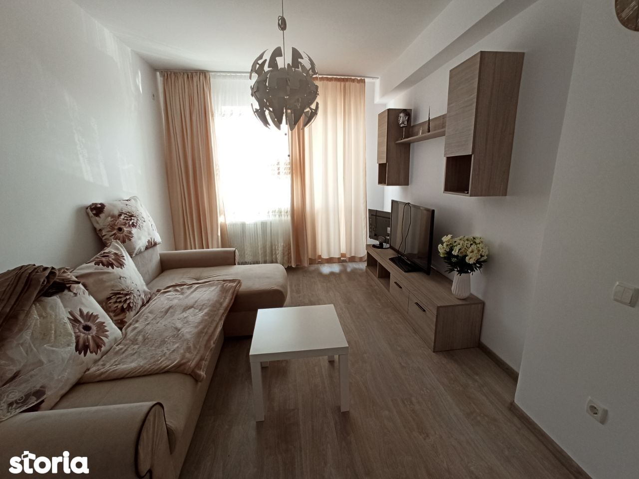 Apartament nou 3 camere mobilat, 2 bai, totul NOU
