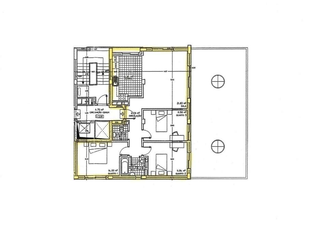 Apartamento para comprar, Avenida Julio Cristovão Mealha - Urbanização Vale das Rãs, São Clemente - Foto 1