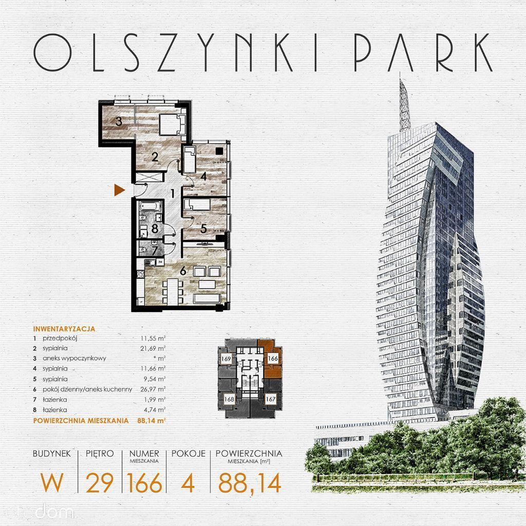 Olszynki Park - Apartament W166