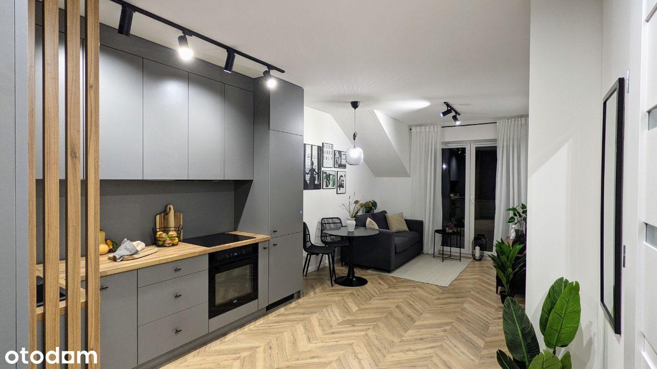 Nowe, 2 pokojowe mieszkanie na Jagodnie, bez PCC