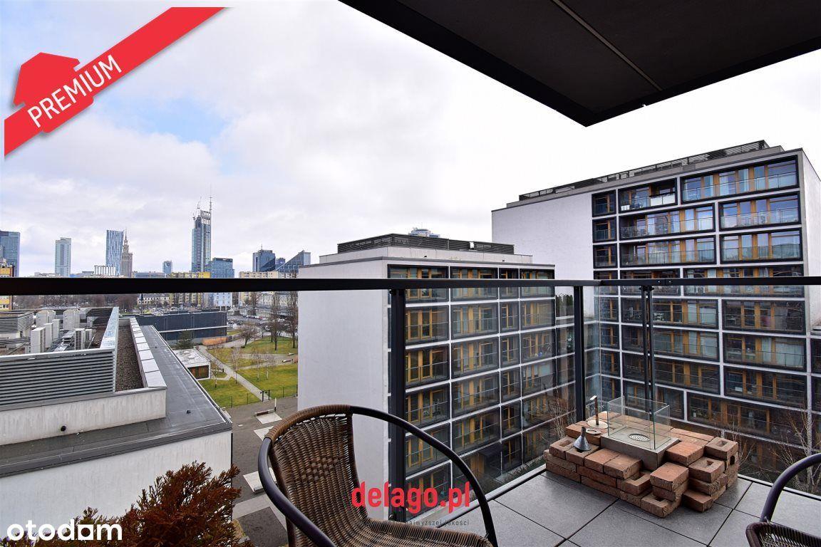 Narożny apartament z widokiem na panoramę miasta!