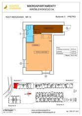 Mieszkanie nr 14 (Budynek C) SPRZEDANE