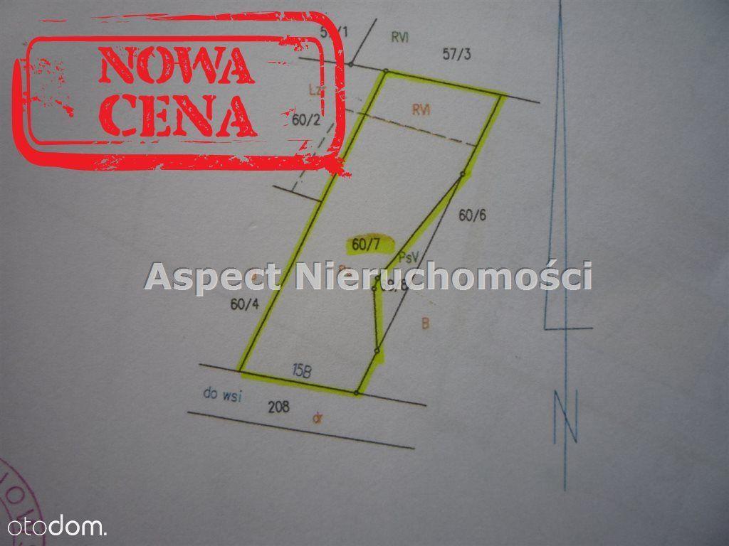 Działka, 1 087 m², Niedrzew Drugi