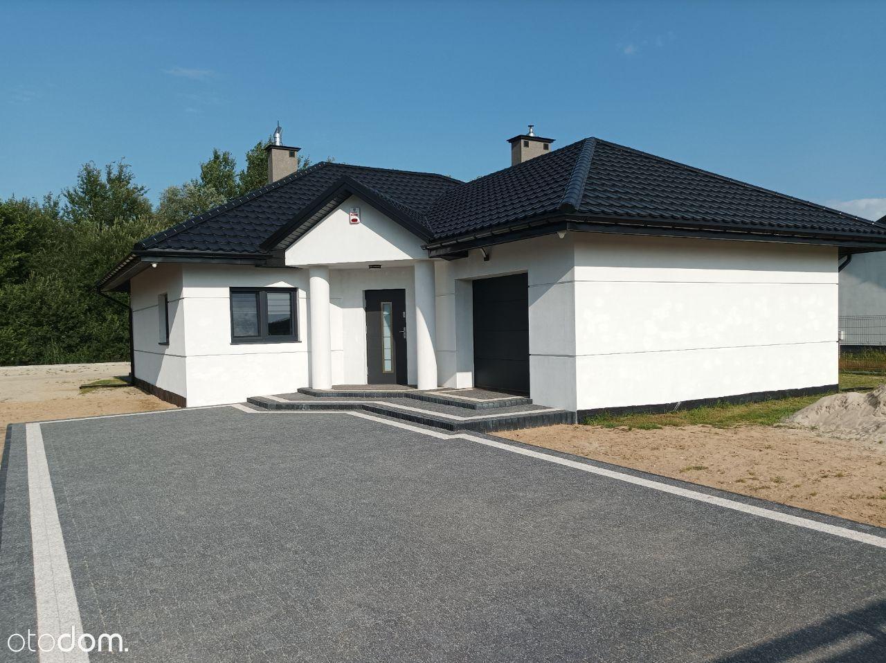 Nowy piękny dom kompletnie wykończony i wyposażony