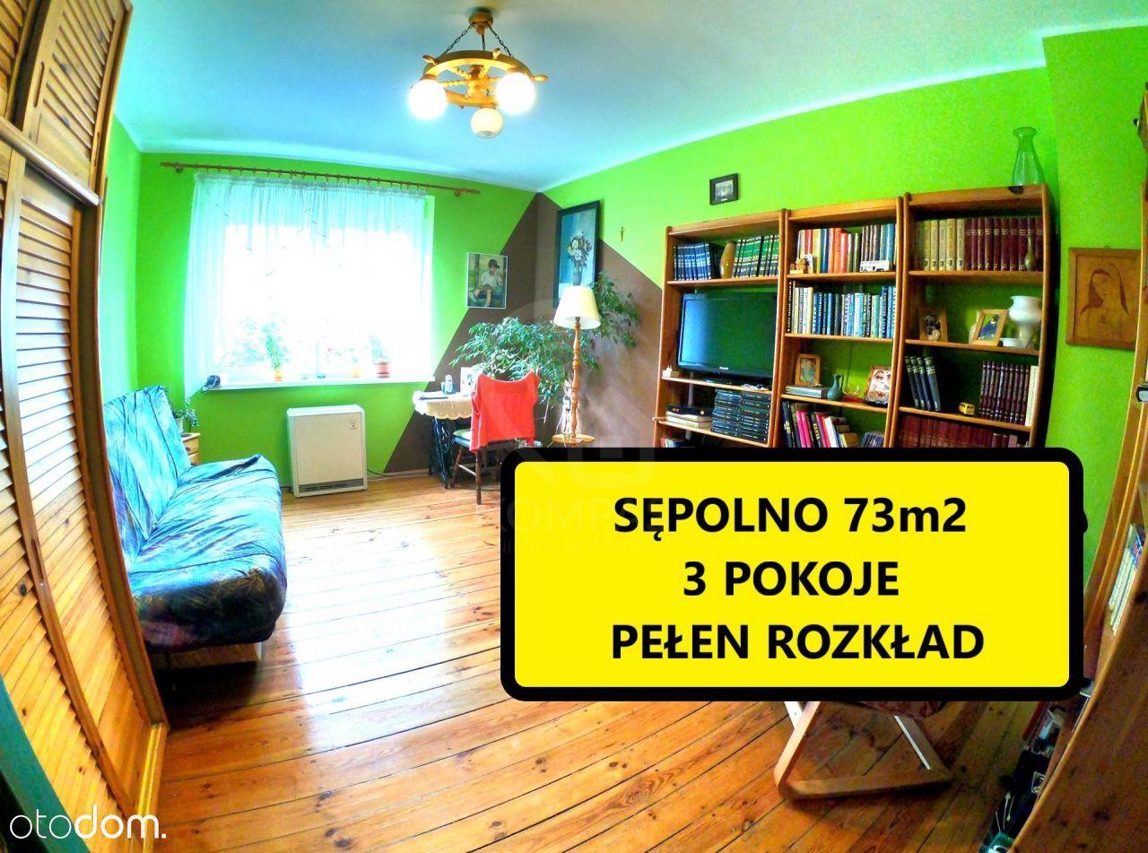 Dwustronne mieszkanie na Sępolnie