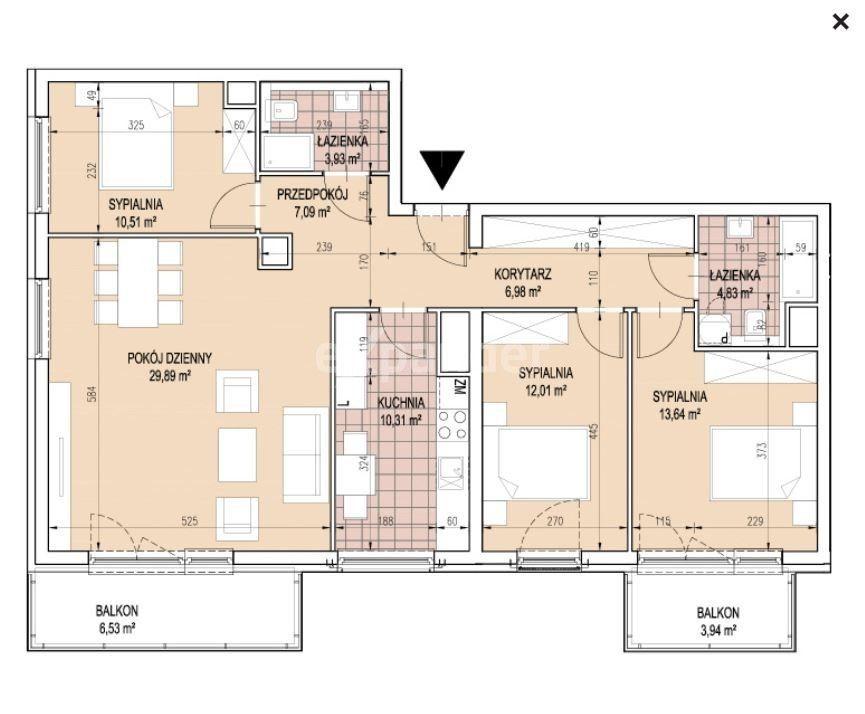 Apartament 100 m2 Wola Duchacka - bez prowizji