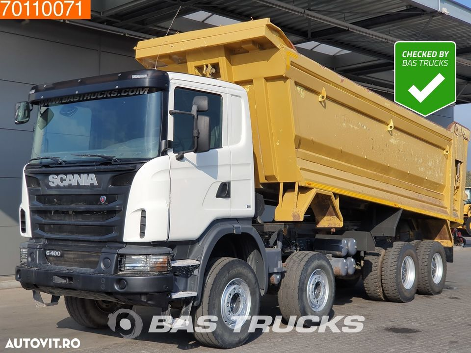 Scania G400 8X4 Manual 26m3 Big-Axle Steelsuspension Euro 5 - 1