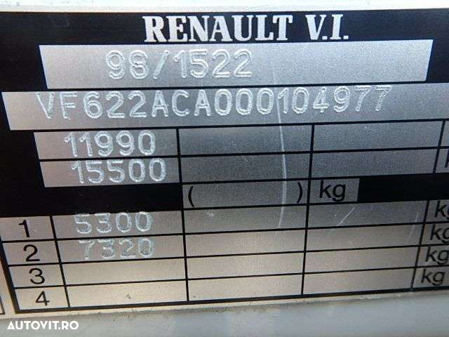 Renault PREMIUM 220 + MANUAL + LIFT - 26