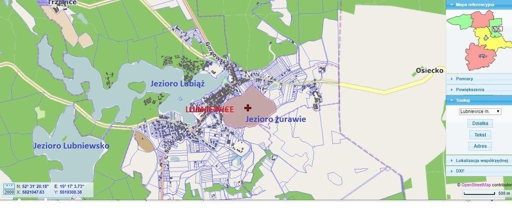 Działki nad jeziorem w Lubniewicach