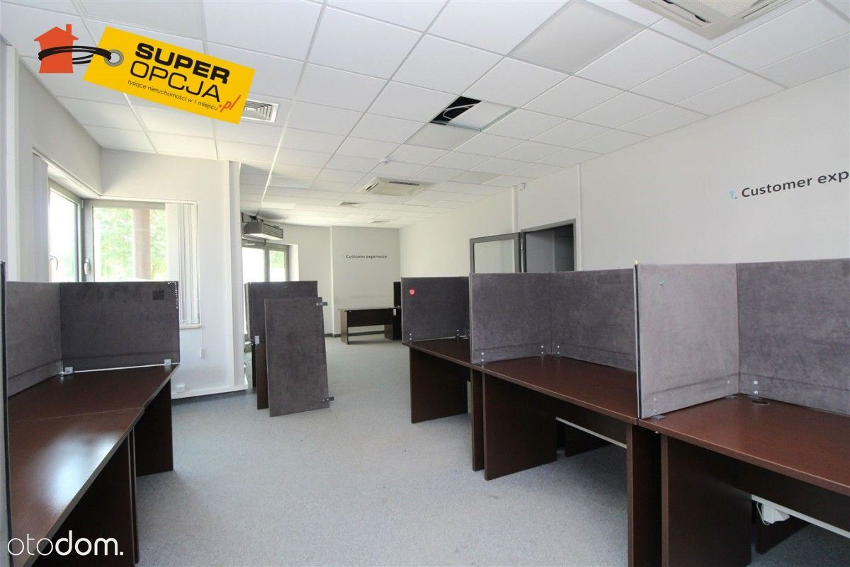 Open space, biuro, call center, fitness, parking !