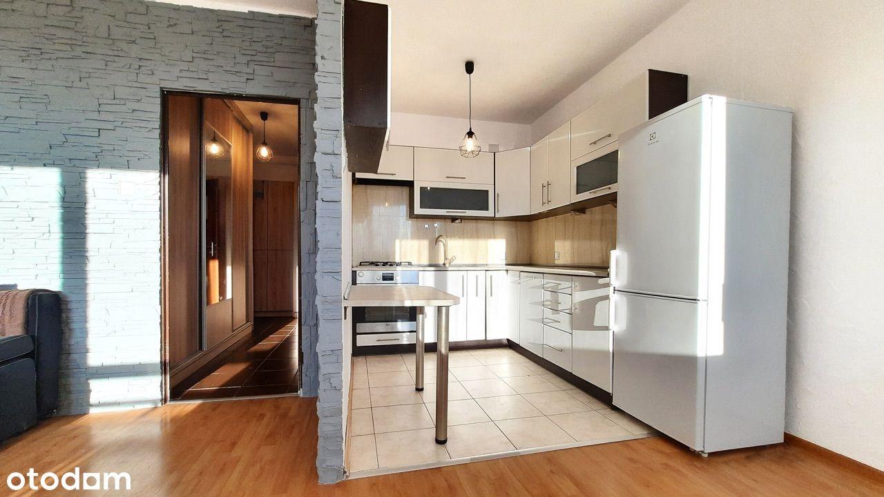 Mieszkanie z dwoma balkonami+rolety- 48m2