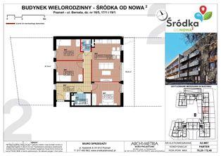 Mieszkanie A2.M07 Poznań Śródka OdNowa 2