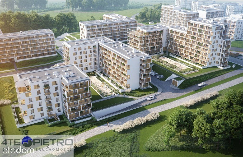 Nowe mieszkanie, 2 pokoje + Ak, 40m2, Czuby, 2022r