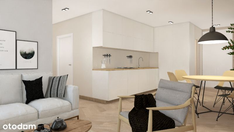 WYJĄTKOWE 4 pok. mieszkanie z ogródkiem, 71.70 m²