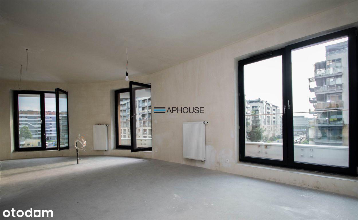 3 pokoje, balkon 12m2 Wt2