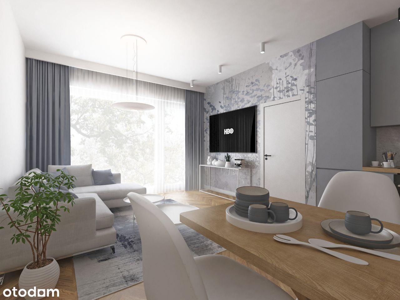 Apartament 2-pokojowy 52,21 m2 z balkonem
