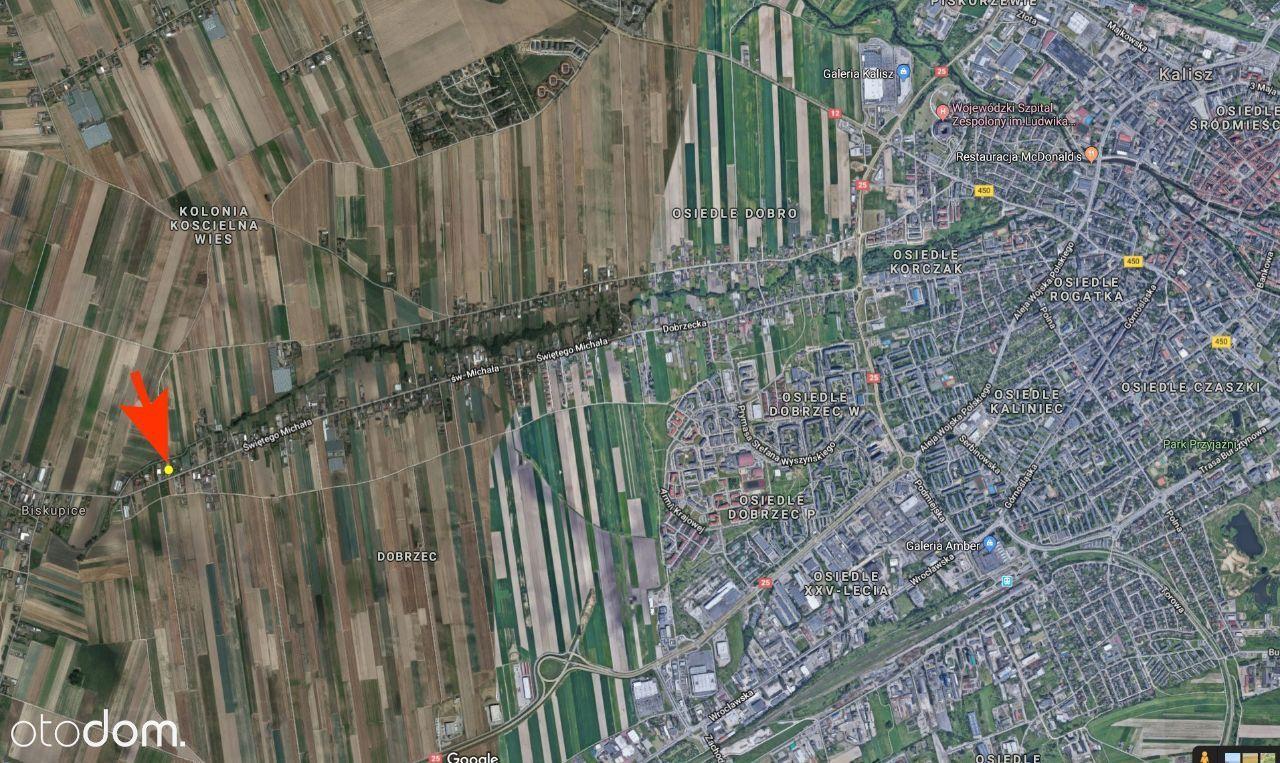 Działka-Świętego Michała 158 , Dobrzec, 1600m2