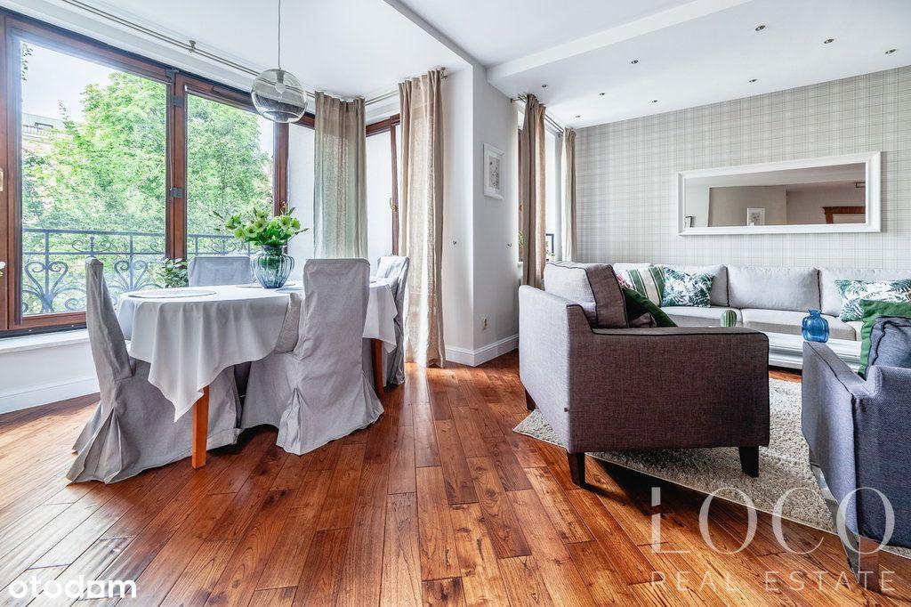 Piękne mieszkanie na Mariensztacie