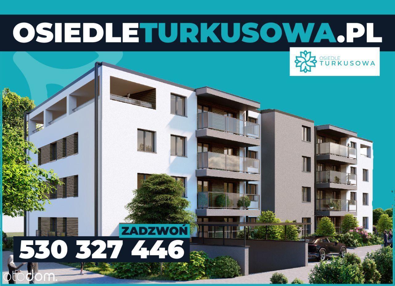 4 pokojowy apartament z tarasem // ul. Turkusowa