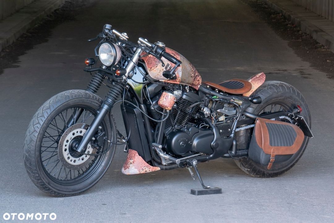 Honda VT Shadow vt 600 Flame Custom Bobber cafe - 9