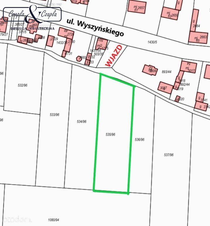 Działka, 4 145 m², Pyskowice