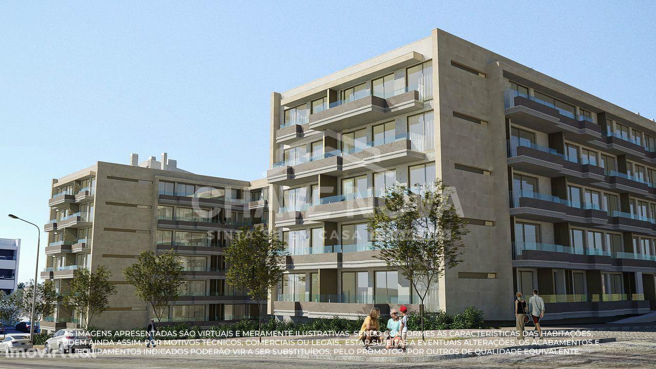 Apartamentos T2 Canidelo para venda em construção Gardens I