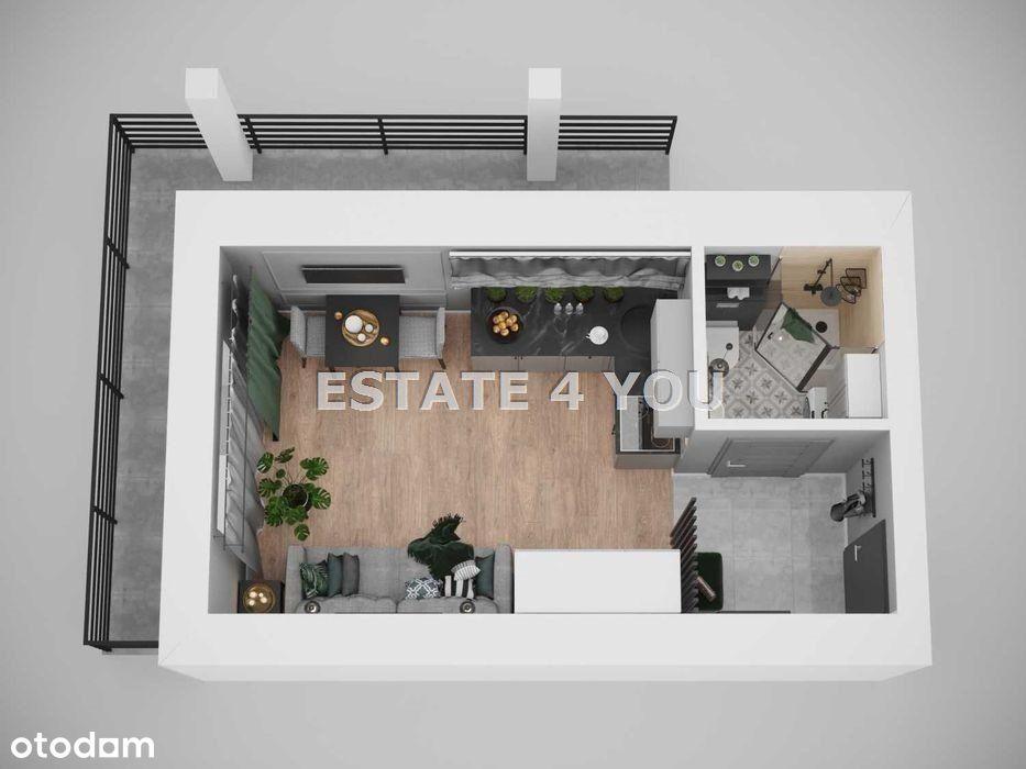 Mieszkanie, 20,10 m², Kraków