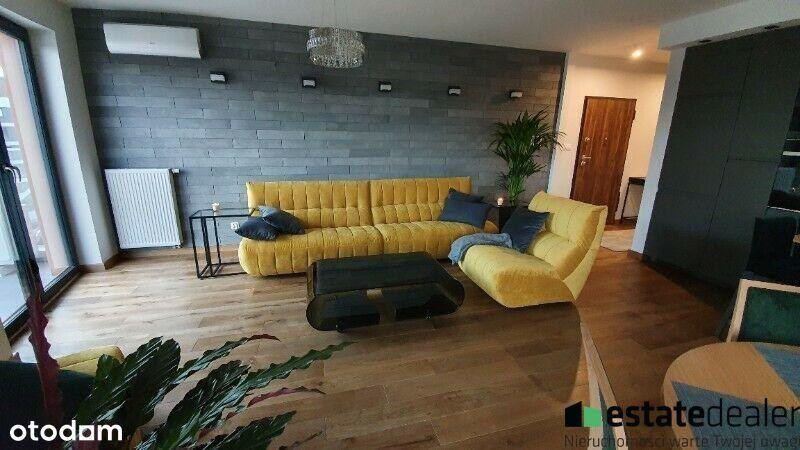 Atrakcyjny Apartament 70M -Tarasy Wiślane-3 Pokoje