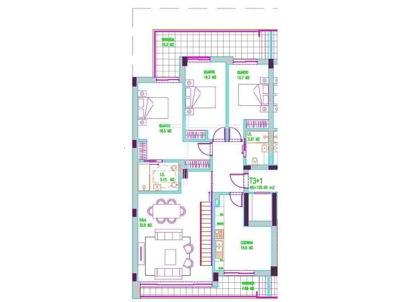 Apartamento para comprar, Charneca de Caparica e Sobreda, Setúbal - Foto 34