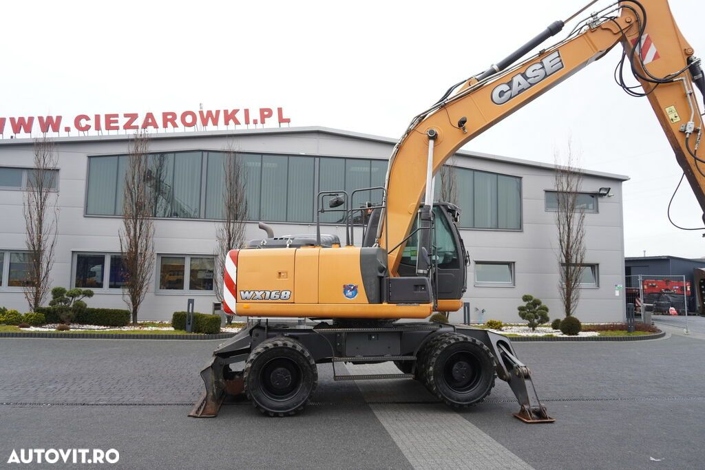 Case WX 168 , 18t , rotator ,grapple , blade ,supports , joystick , A - 13