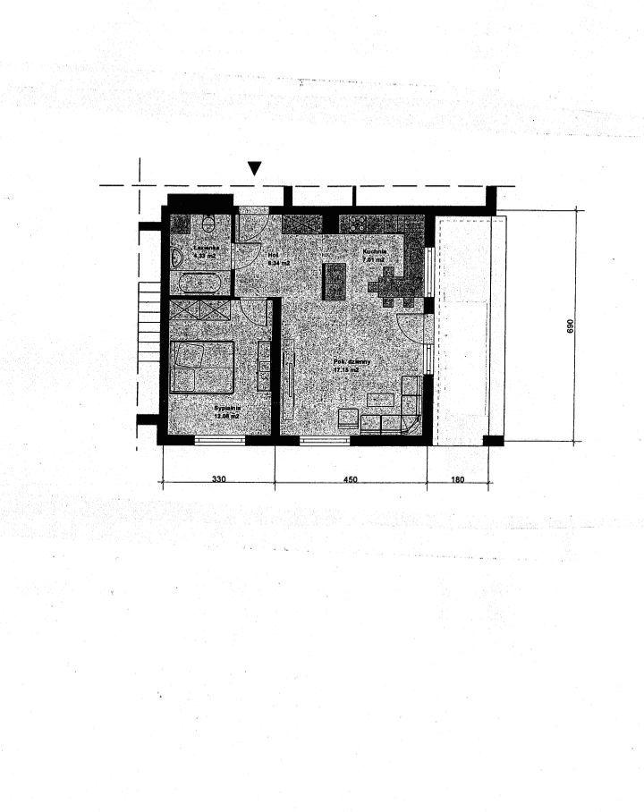 Mieszkanie 47 m2 Krajobrazowa