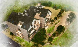 Dwupokojowe mieszkanie, Aleja Południowa M1