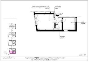 Mieszkanie 187c/3 pow. 54,93 m2