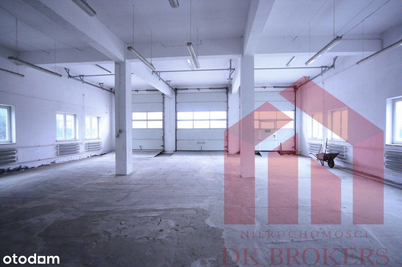 Hala produkcyjna, warsztat, magazyn ponad 900m2
