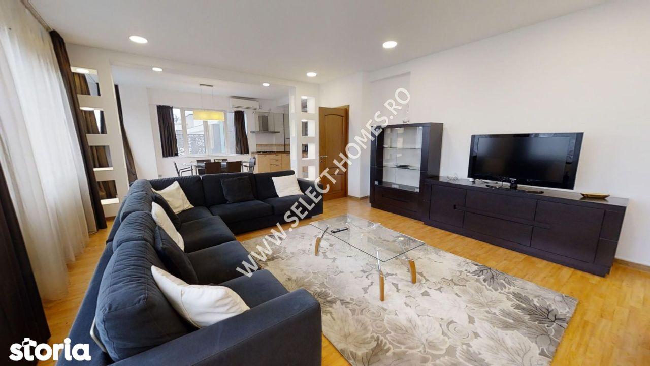 Apartament 3 camere de închiriat *Primaverii* Tur Virtual