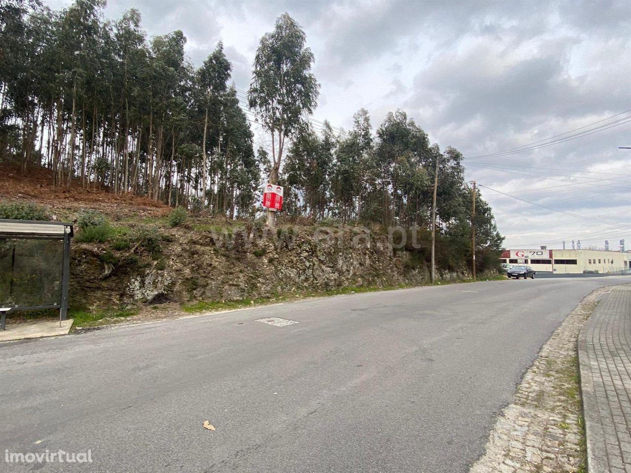 Terreno industrial em Rebordosa - Paredes