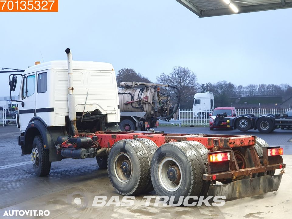 Mercedes-Benz 2631 6X4 Manual Big-Axle Steelsuspension Euro 2 - 2