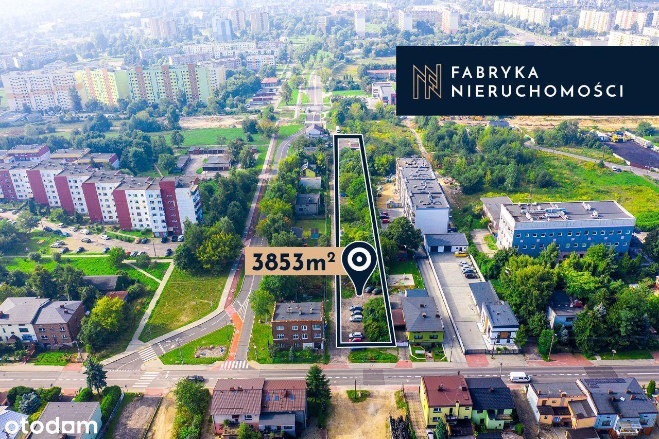 Duża działka dla inwestora, Lenartowicza, 3853 m²