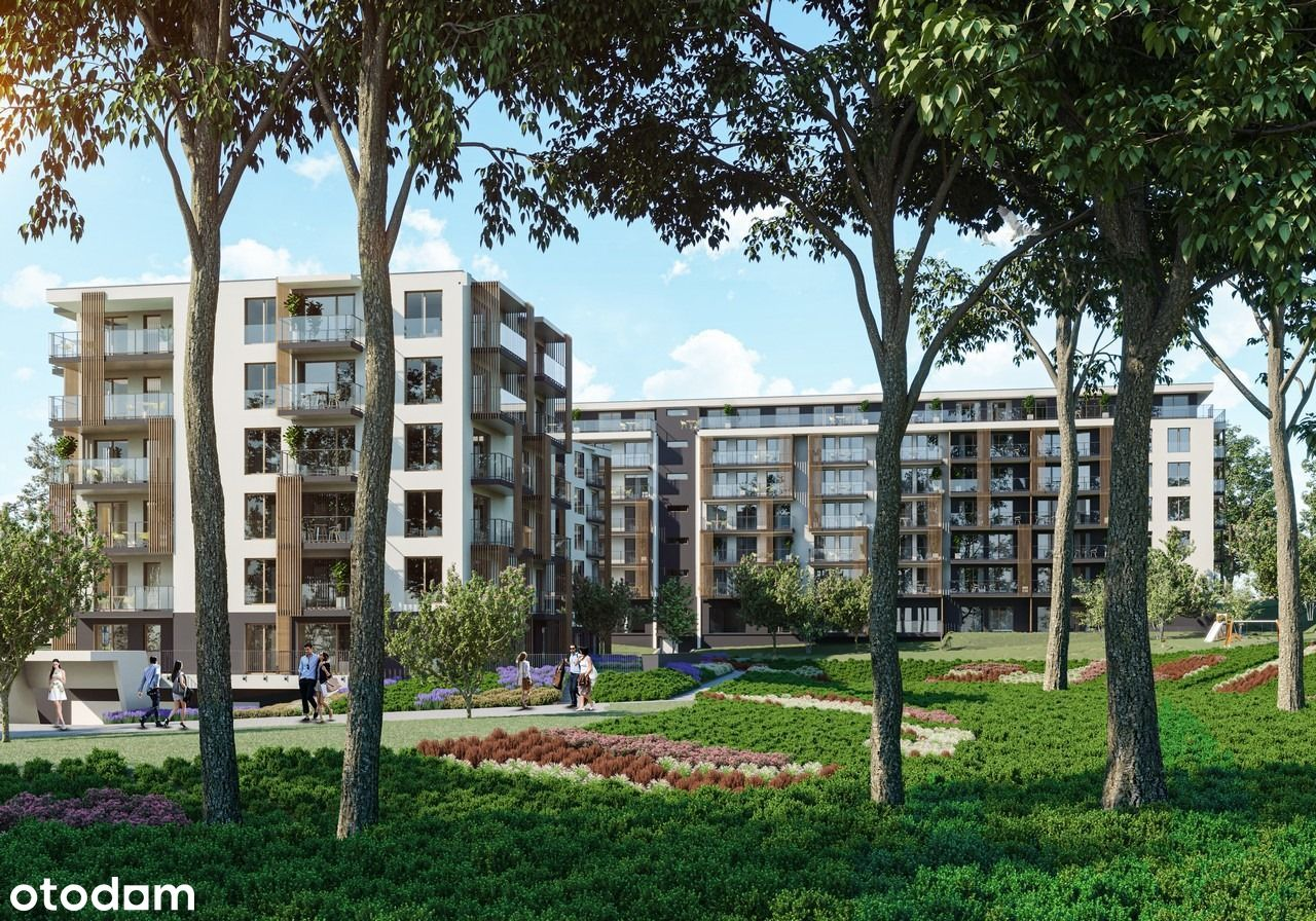 Apartament 39m2, 2 pok, Wysoki Standard Osiedla!