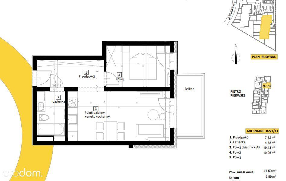 NOWY APARTAMENT Kudowa - Zdrój! 2 pokoje + balkon