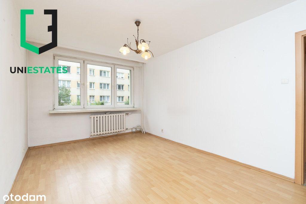 2 pokoje / Do remontu / Centrum