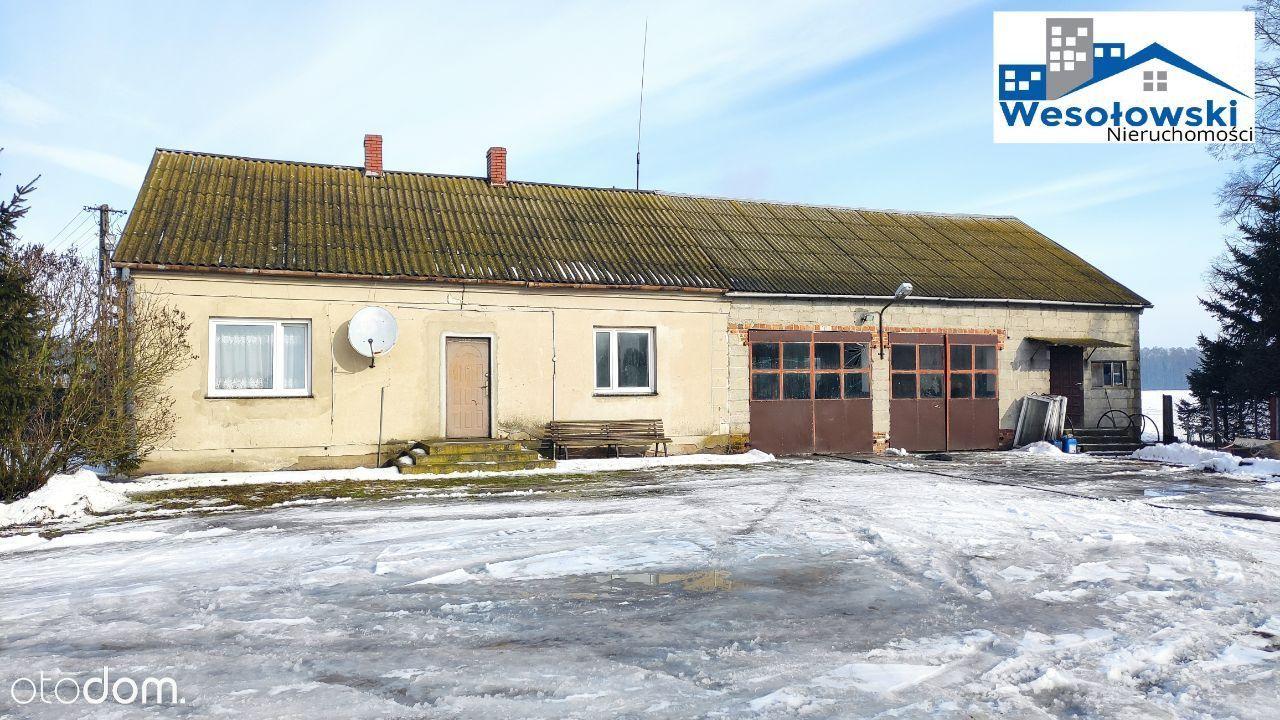 Dom 108 m2 z warsztatem 300 m od DK nr 10