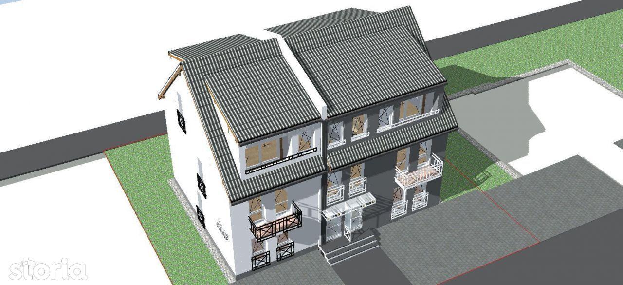 Casa 4 Camere+gradina-str.Ghica Budesti/C.Cisnadiei