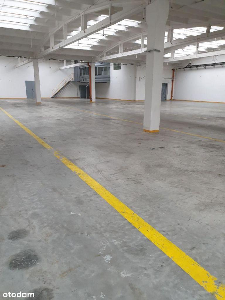 Hala magazynowa 1498 m2 parking w cenie