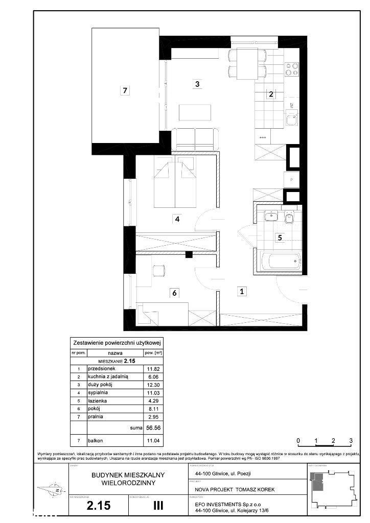 apartamenty Green Place Łabędy - Poezji | 56,56 |