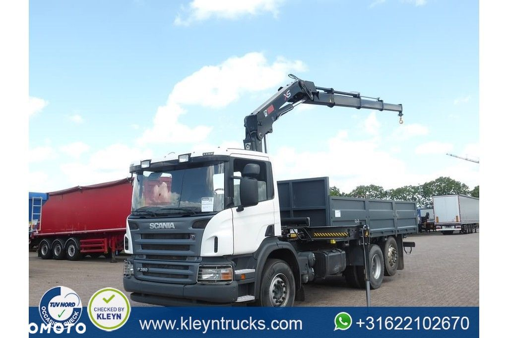 Scania G420  Scania G420 6x2 hiab166/3 unused - 1