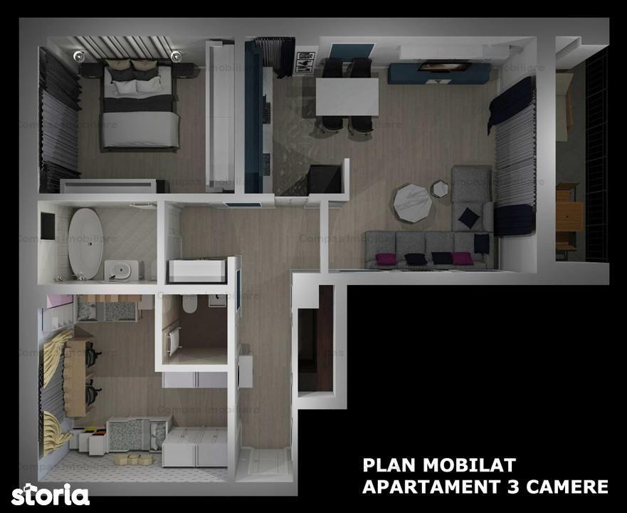 Apartamente in bloc nou zona Strada Pepinierei