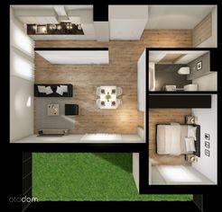 2-pokojowe mieszkanie z dużym ogródkiem