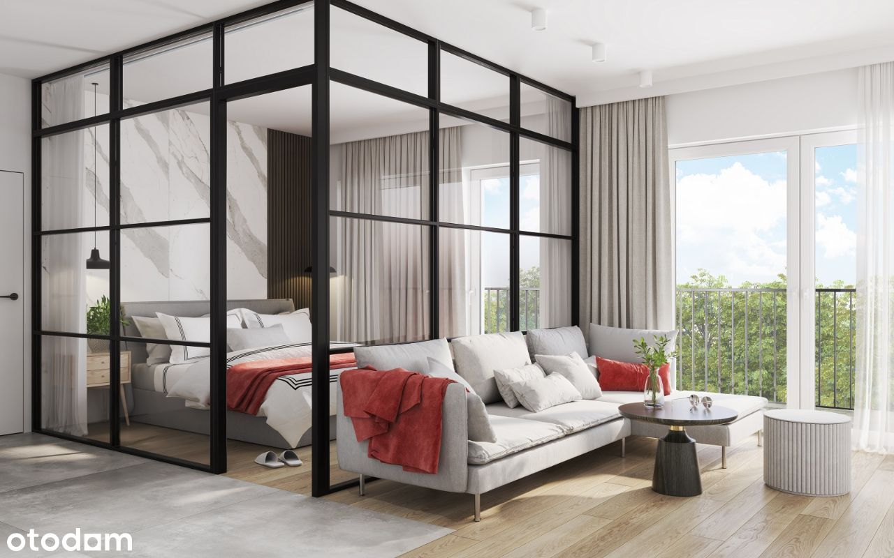 Apartament 1-pokojowy w standardzie premium