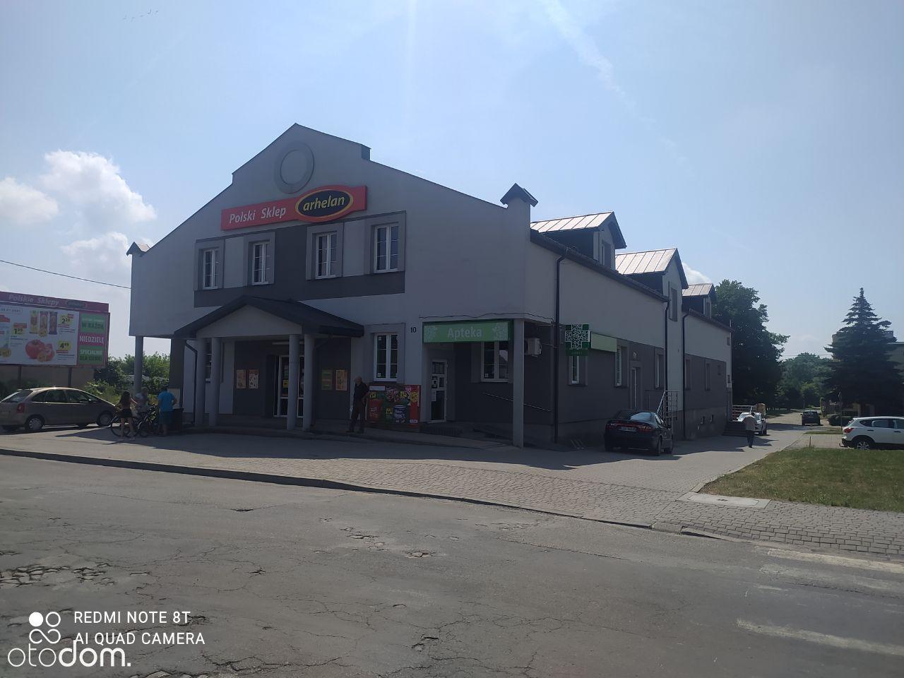 Budynek handlowo usługowy 1500m2 Ostrów Lubelski